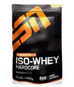 ESN Iso-Whey Hardcore 1 kg Beutel