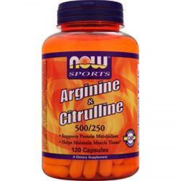 Arginin und Citrullin 120 Tabletten