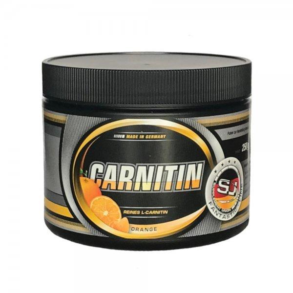 L-Carnitin, 250 g Dose, Orange