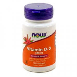 Vitamin D3 400 IE, 180 Kapseln