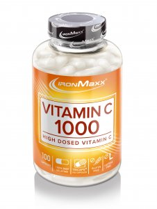 Vitamin C Premium Qualität, 100 Kapseln