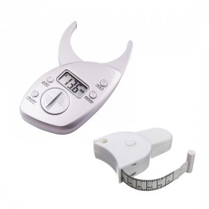 Digitaler Fat Caliper inklusive Körpermassband